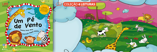 Ilustracção do Livro 1 - Colecção 4 Leituras