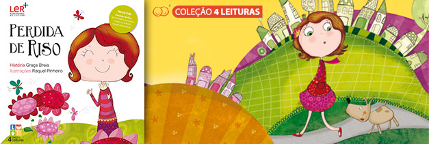 Ilustracção do Livro 3 - Colecção 4 Leituras