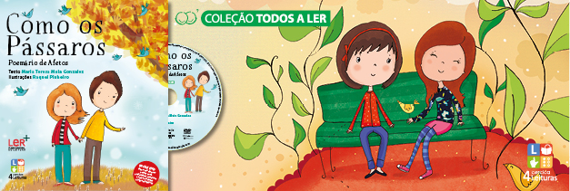 Ilustracção do Livro 6 - Colecção 4 Leituras