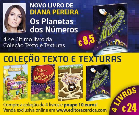 Novo livro Os Planetas dos Números